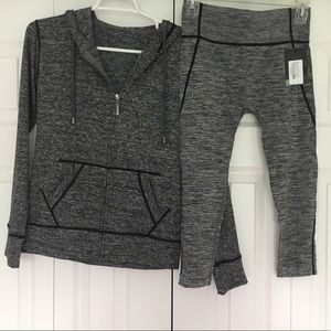 Other - Exercise zip up and pants