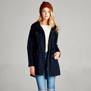 Jackets & Blazers - ✅✅✅PLUS✅✅✅ Shala Utility Jacket -- Navy