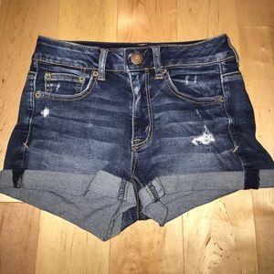 American eagle hi rise shorts!! ☀️