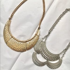 Jewelry - *MOVING SALE*BUY NOW* Silver & Gold Necklaces
