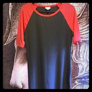 LuLaRoe Julia dress S