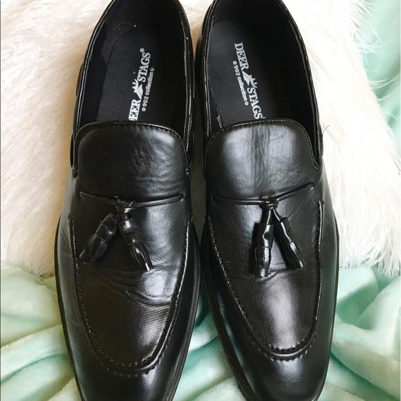 Deer Stag Mens Dress Shoes
