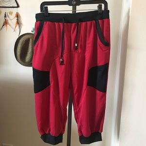 Other - •Red knit Jogger•