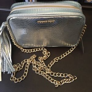 Victoria Secret Silver Crossover Purse