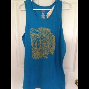 Tops - Lion tank top (large)