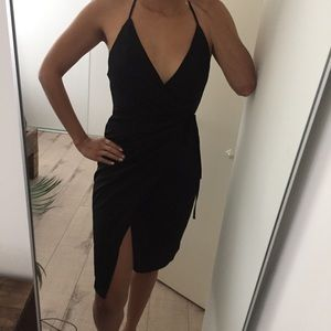 LF Black Wrap Dress *NEW*
