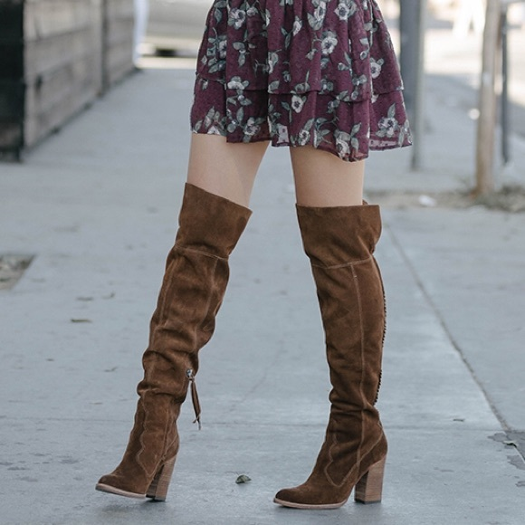 Dolce Vita Ozzie suede knee high boots