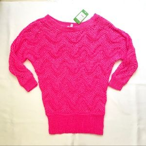 NWT Lilly Pulitzer pink sweater