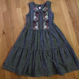 Girls tea collection 2T chambray dress