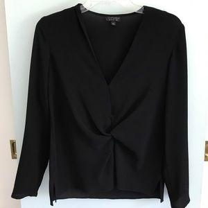 Topshop black long sleeve