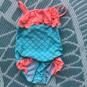 Other - Cute scale pattern girls swim suit