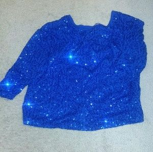 Tops - 🎀 Sequin Crop-top 🎀