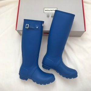 Brand new hunter original tall rain boots