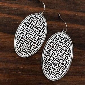 Jewelry - Ornate Silver Filagree Earrings