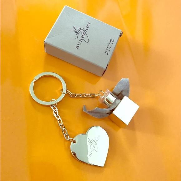 55bcf52b5050 Burberry Accessories   Heart Perfume Bottle Key Charm   Poshmark