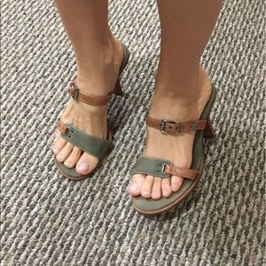 Nicole green heels