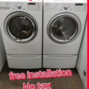 LG washer and dryer $600 for sale