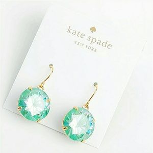 Kate Spade French Wire Green Drops
