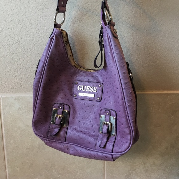 Gorgeous purple Guess bag