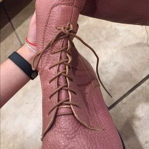J. Crew Shoes - J Crew Leather Lace Up Boots