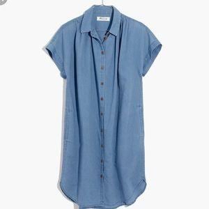 Madewell Indigo Central Shirtdress Size XS