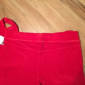 f93b1f881b6750 Juicy Couture Pants - Juicy Couture x UO - Red Stirrup Velour Legging