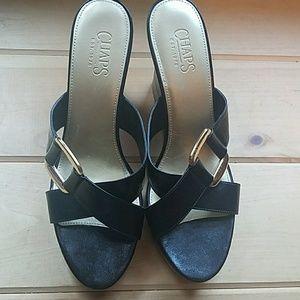 c0227c6b11ea Chaps Shoes - Ladies Chaps Sandals