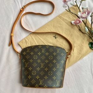 Louis Vuitton monogram Drouot Bag