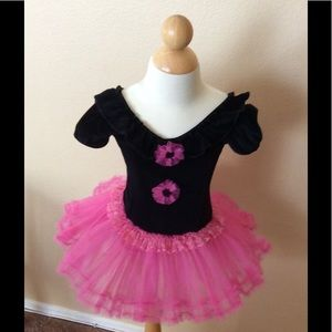 Other - New BLACK & PINK BABY GIRL TUTU DRESS 24 months