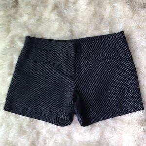 ABS Platinum navy blue dotted Swiss shorts. Size 6