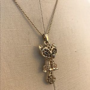 Jewelry - Super Cute Gold Fox Charm Necklace