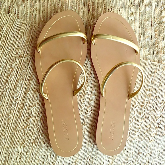 49 Off J Crew Shoes J Crew Two Strap Slide Sandal In