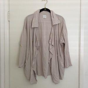 LF Open Front Linen Jacket
