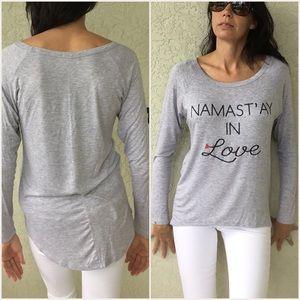 Tops - Namastay In Love Long Sleeve