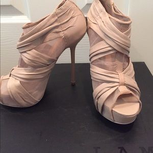 L.A.M.B. Blush high heels NEW!