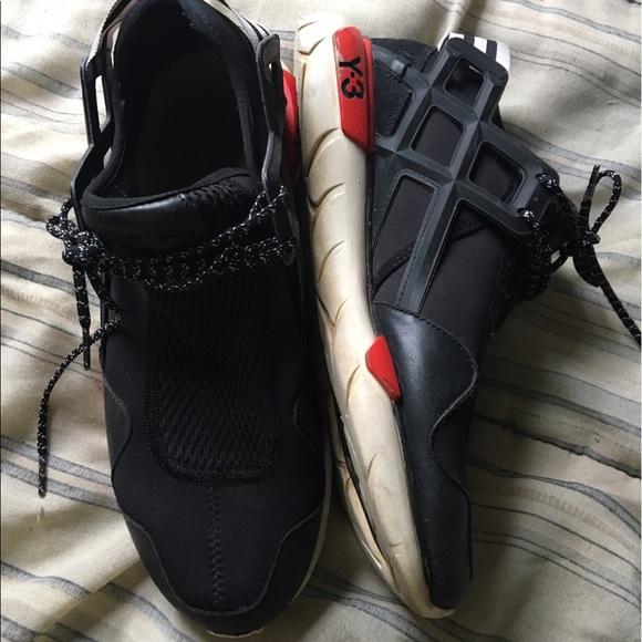 41798a4c4 Y-3 Qasa Racer Black Red 9.5 Yohji Yamamoto. M 59654b845a49d0a3b8123f68.  Other Shoes ...