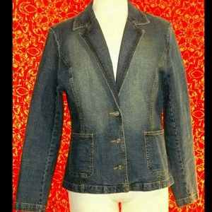 PAZO bolazer style denim jacket