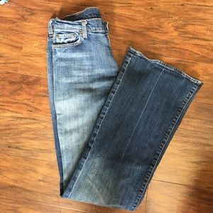 Seven For All Mankind Brand flair jeans, size 31