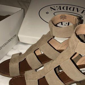 848ae23c5f34 Steve Madden Shoes - 6.5  STEVE MADDEN DAVISS GLADIATOR SANDAL
