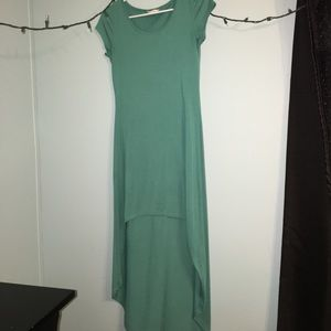 real high-low dress