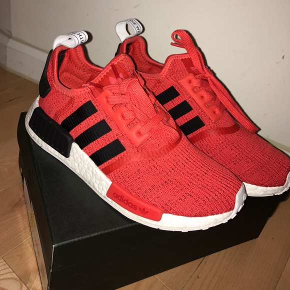the latest e0431 7ad60 Red NMDs. NWT. adidas.  250  0. Size. 8.5. Buy Now