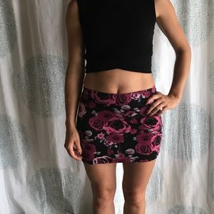 Dresses & Skirts - Sexy Floral Bodycon Skirt