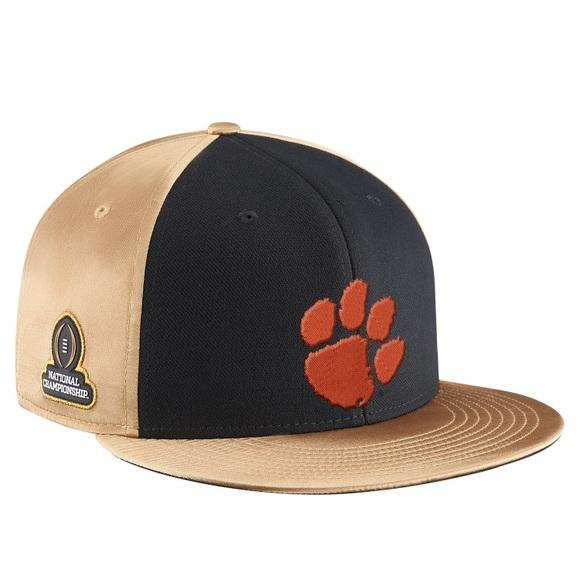8a8c9b6324f4 Nike True Clemson Tigers 2016 Championship Hat