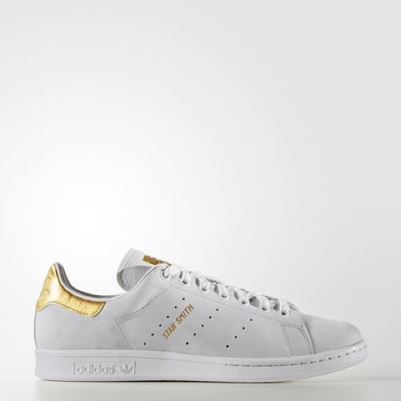 competitive price 4f2da ca673 ⬇️Adidas Stan Smith Gold Leaf Shoes, Size 11.5