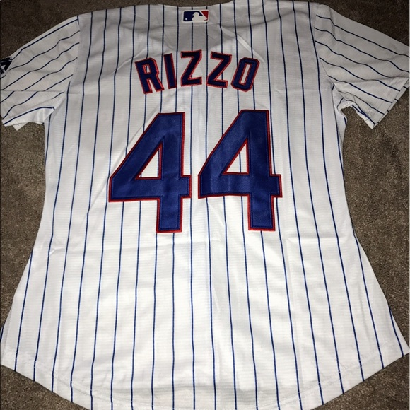 brand new 66862 8a43e Women's Chicago Cubs Anthony Rizzo jersey (Small) NWT