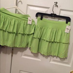 NEW Lime Skirts