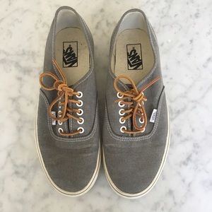 f932158463 Vans Shoes - Vans® for J.Crew Washed Canvas Authentic Sneakers