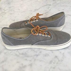 d67b92e46a4b Vans Shoes - Vans® for J.Crew Washed Canvas Authentic Sneakers