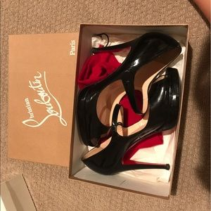 Christian Louboutin Iowa Zeppa Mary Jane pumps