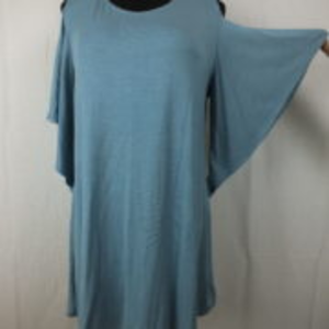 NWT BOUTIQUE Cold Shoulder Flair Tunic